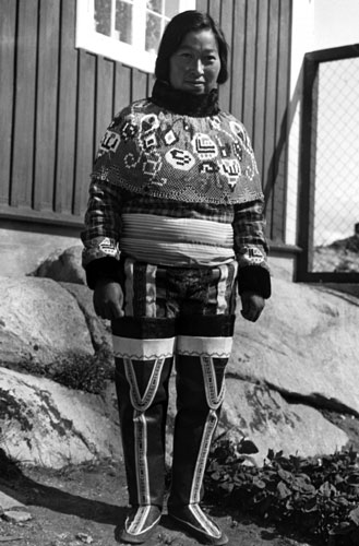 Images for All - Inuit Greenlander in traditional costume